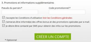 bet777 code promotionnel