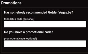 golden vegas promotional code
