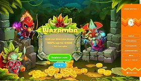 wazamba casino website